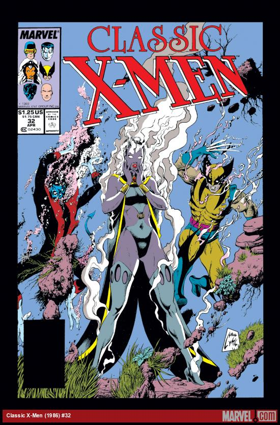 Classic X-Men (1986) #32 Cover