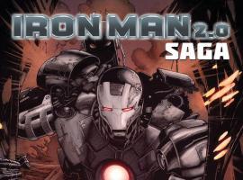 Iron Man 2.0 Saga (2011) #1 Cover