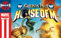 Fantastic Four: House of M #1