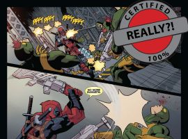 Deadpool and Cable: Split Second #1 preview art by Reilly Brown