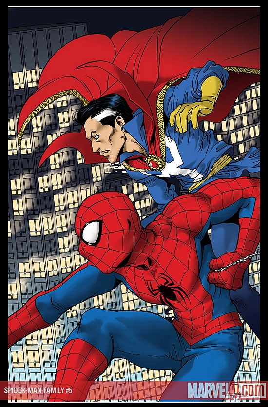 SPIDER-MAN FAMILY #5