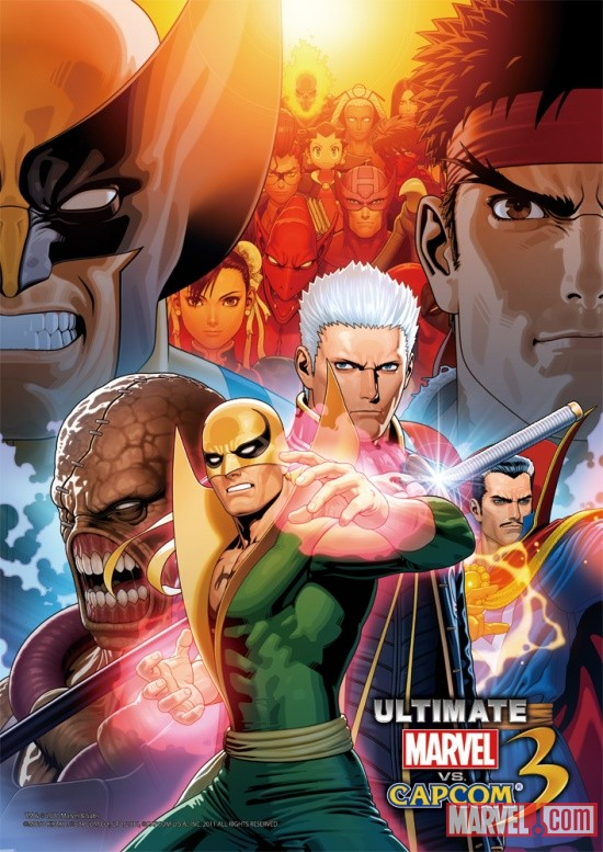 Iron Fist and Vergil Join UMvC3