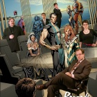 2011 Holiday card from the mutants on Utopia (and the X-Office)