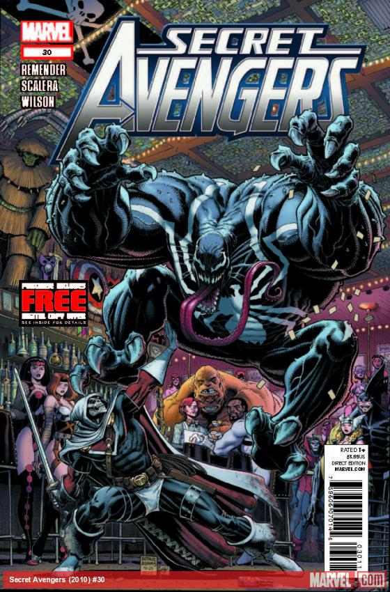 SECRET AVENGERS 30 (WITH DIGITAL CODE)