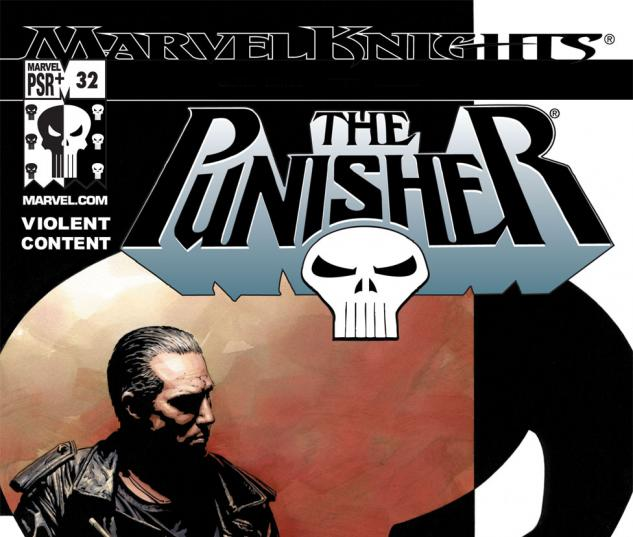 Punisher (2001) #32 Cover