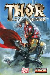 Thor: God of Thunder #7  (Dell'otto Iron Man Many Armors Variant)