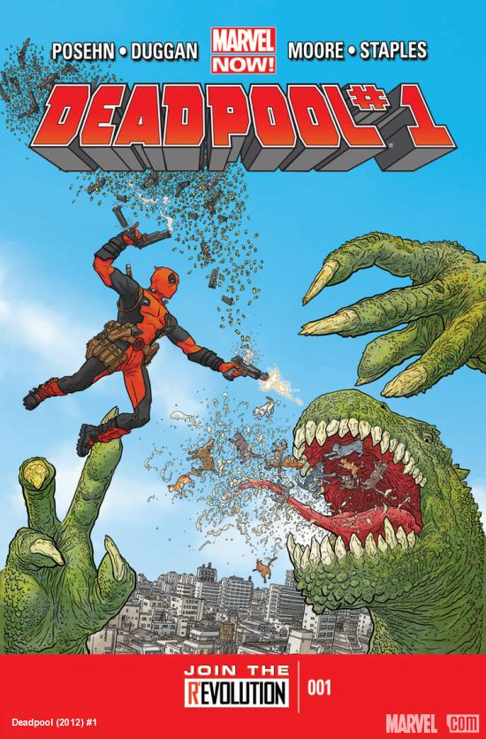 Deadpool 2012 Cover #1