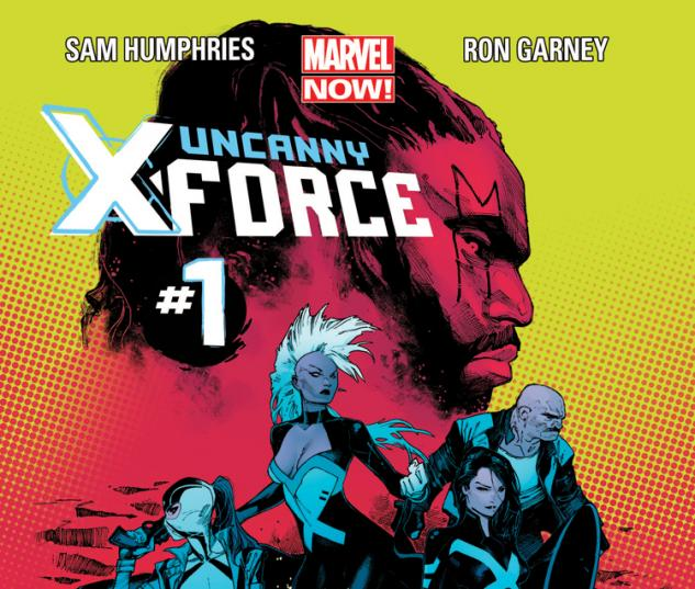 Uncanny X-Force 2013 Cover #1