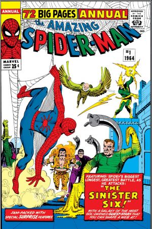 Amazing Spider-Man Annual (1964 - 2009) thumbnail