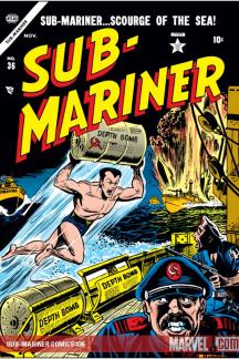 Sub-Mariner Comics #36
