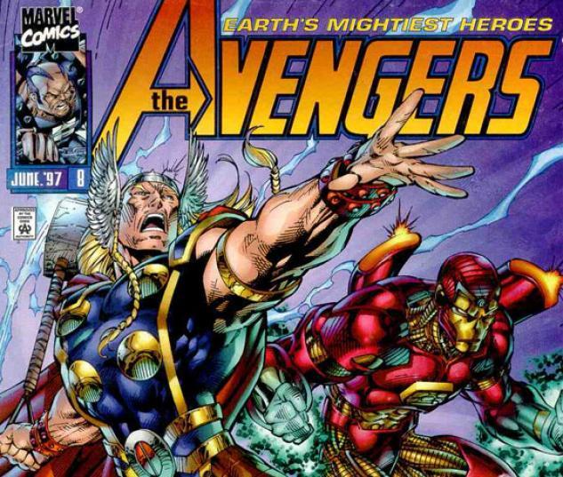 HEROES REBORN: AVENGERS COVER