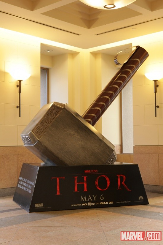 Thor in-theaters standee