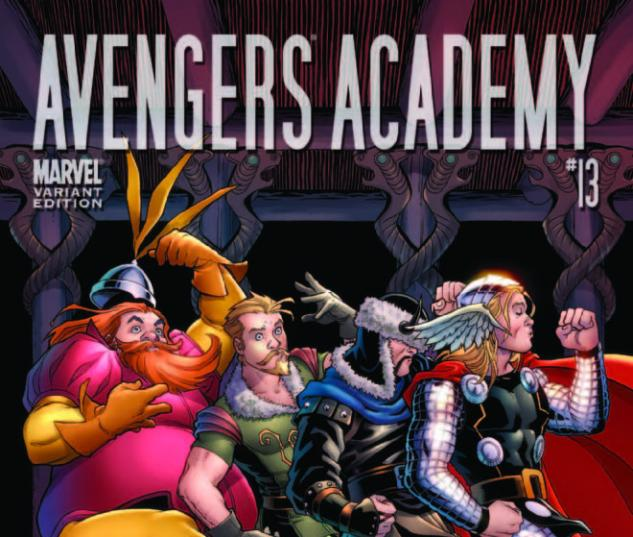 Avengers Academy #13 (Thor Goes Hollywood Variant)