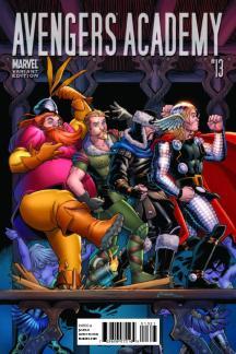 Avengers Academy (2010) #13 (THOR HOLLYWOOD VARIANT)