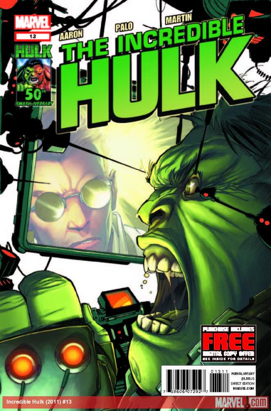 INCREDIBLE HULK 13 (WITH DIGITAL CODE)