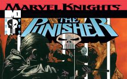 Cover for The Punisher (2001) #1
