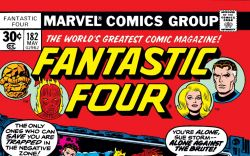 Fantastic Four (1961) #182 Cover