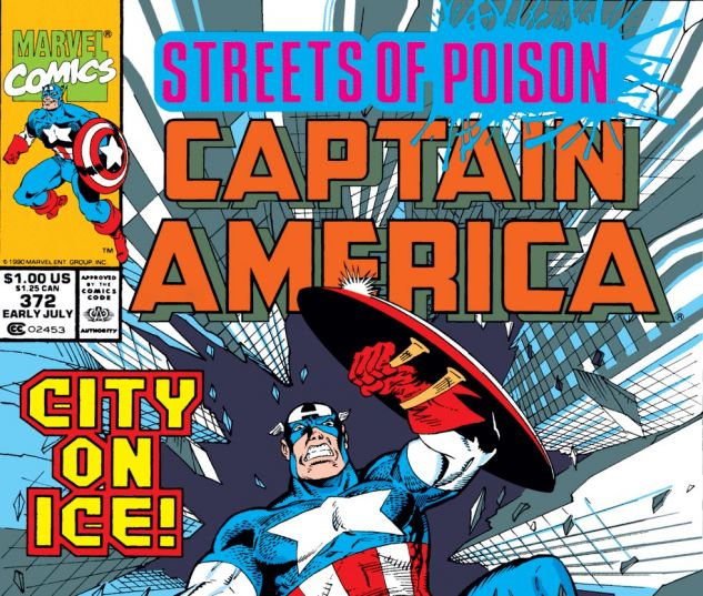 Captain America (1968) #372 Cover
