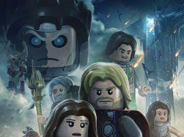 LEGO Marvel - Thor Parody Art Poster