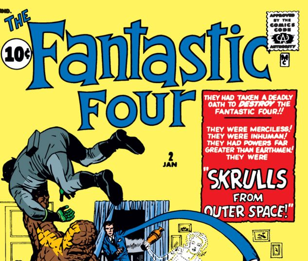 Fantastic Four (1961) #2 Cover