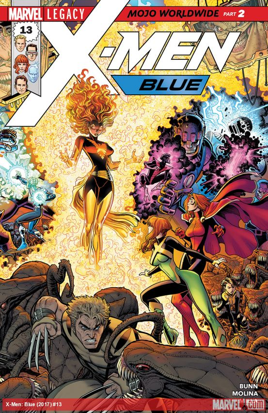 X-Men: Blue (2017) #13