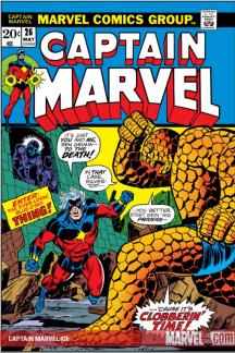 Captain Marvel (1968) #26