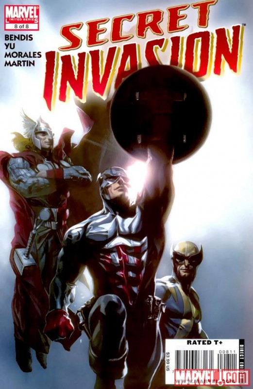 SECRET INVASION #8 cover by Gabrielle Dell'Otto