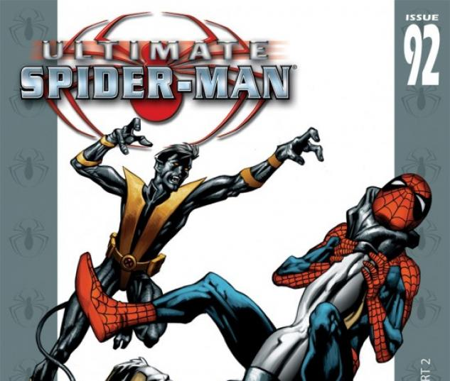 ULTIMATE SPIDER-MAN (2007) #92 COVER