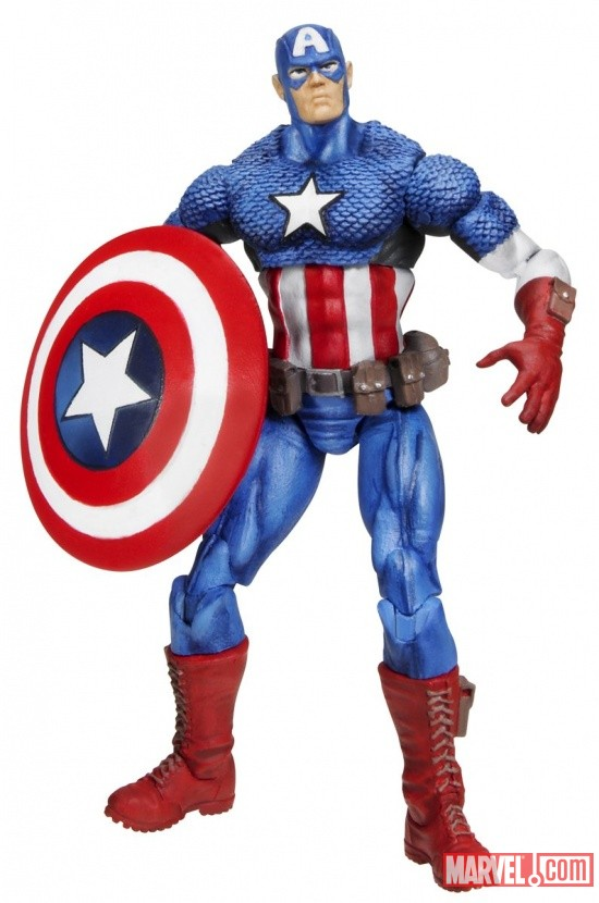 Captain America 3 3/4 Inch Marvel Universe Action Figure from Hasbro, Wave 2