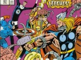 Avengers #301 cover