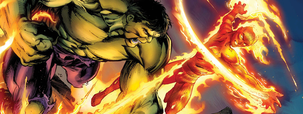Human Torch &amp; Hulk: Fantastic Flashback