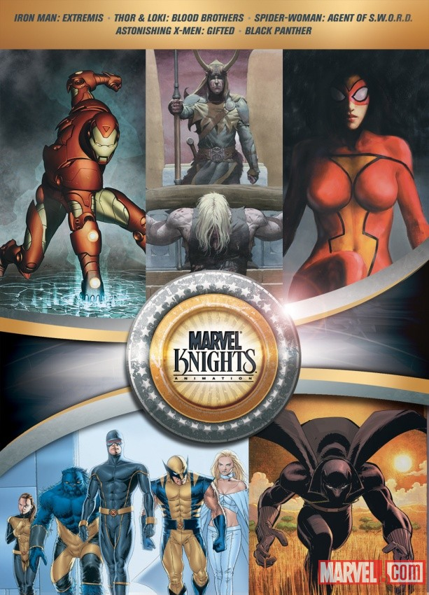 Marvel Knights Animation Collection box art
