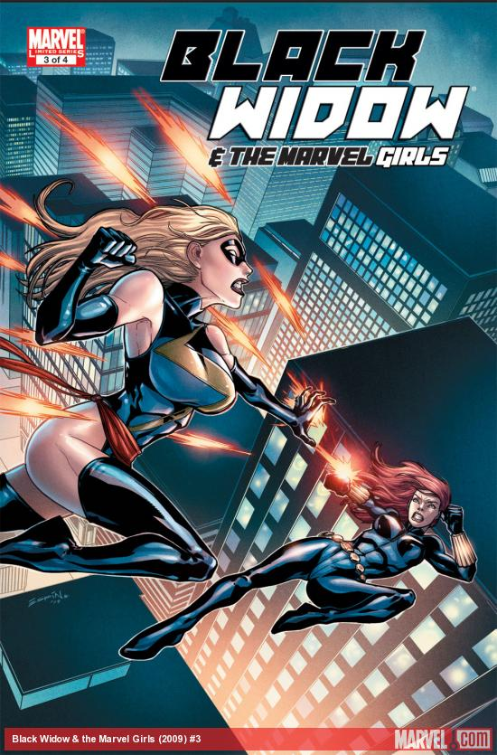 Black Widow &amp; the Marvel Girls (2009) #3