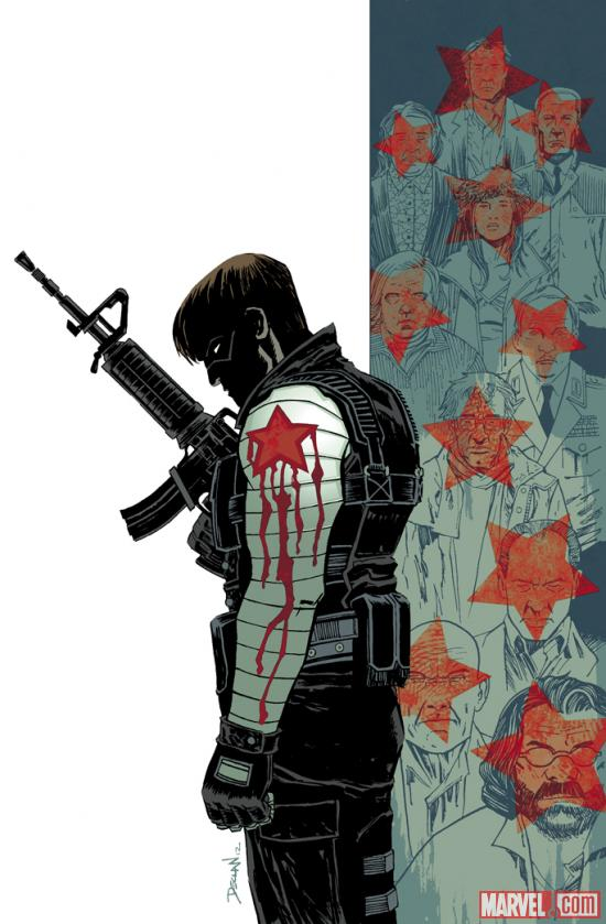 Winter Soldier #15 cover by Declan Shalvey