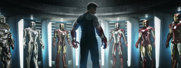 New Iron Man 3 Movie Poster