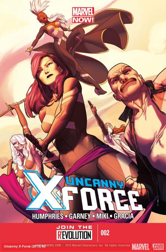 Uncanny X-Force (2013) #2 Cover