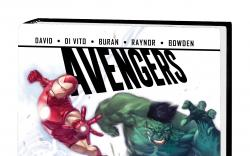 AVENGERS: SEASON ONE PREMIERE HC (WITH DIGITAL CODE)