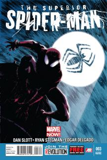 Superior Spider-Man (2013) #3 (2nd Printing Variant)