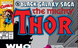 Thor (1966) #422 Cover