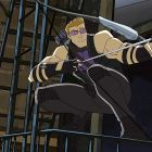 Hawkeye from Marvel's Avengers Assemble