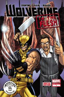 Wolverine: In The Flesh #1  (Consentino Variant)