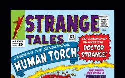 Strange Tales #121