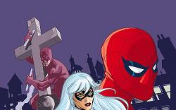 SPIDER-MAN/BLACK CAT: EVIL THAT MEN DO (2007) #4 COVER