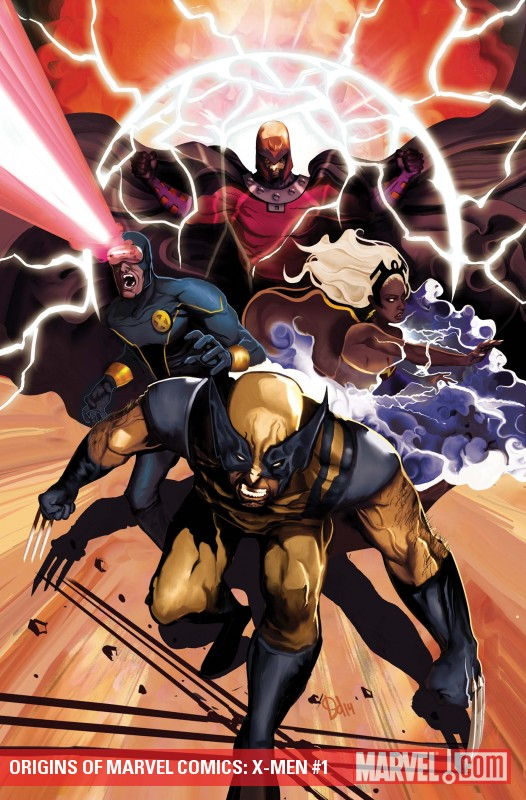 Origins of Marvel Comics: X-Men (2010) #1
