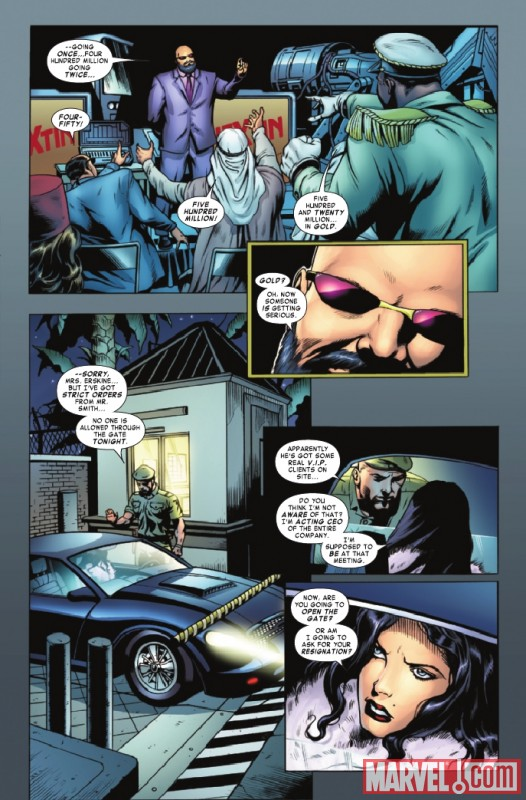 STEVE ROGERS: SUPER SOLDIER #4 preview page by Dale Eaglesham