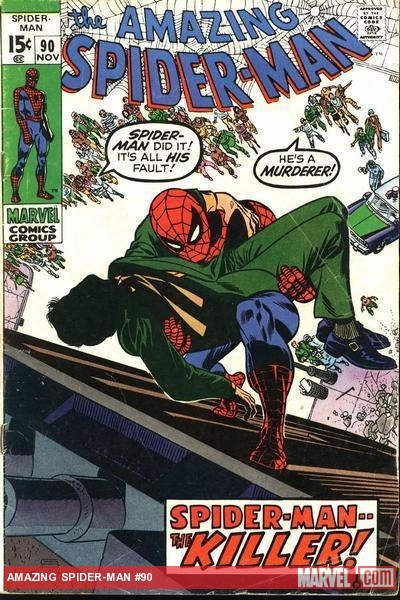 Amazing Spider-Man (1963) #90 cover