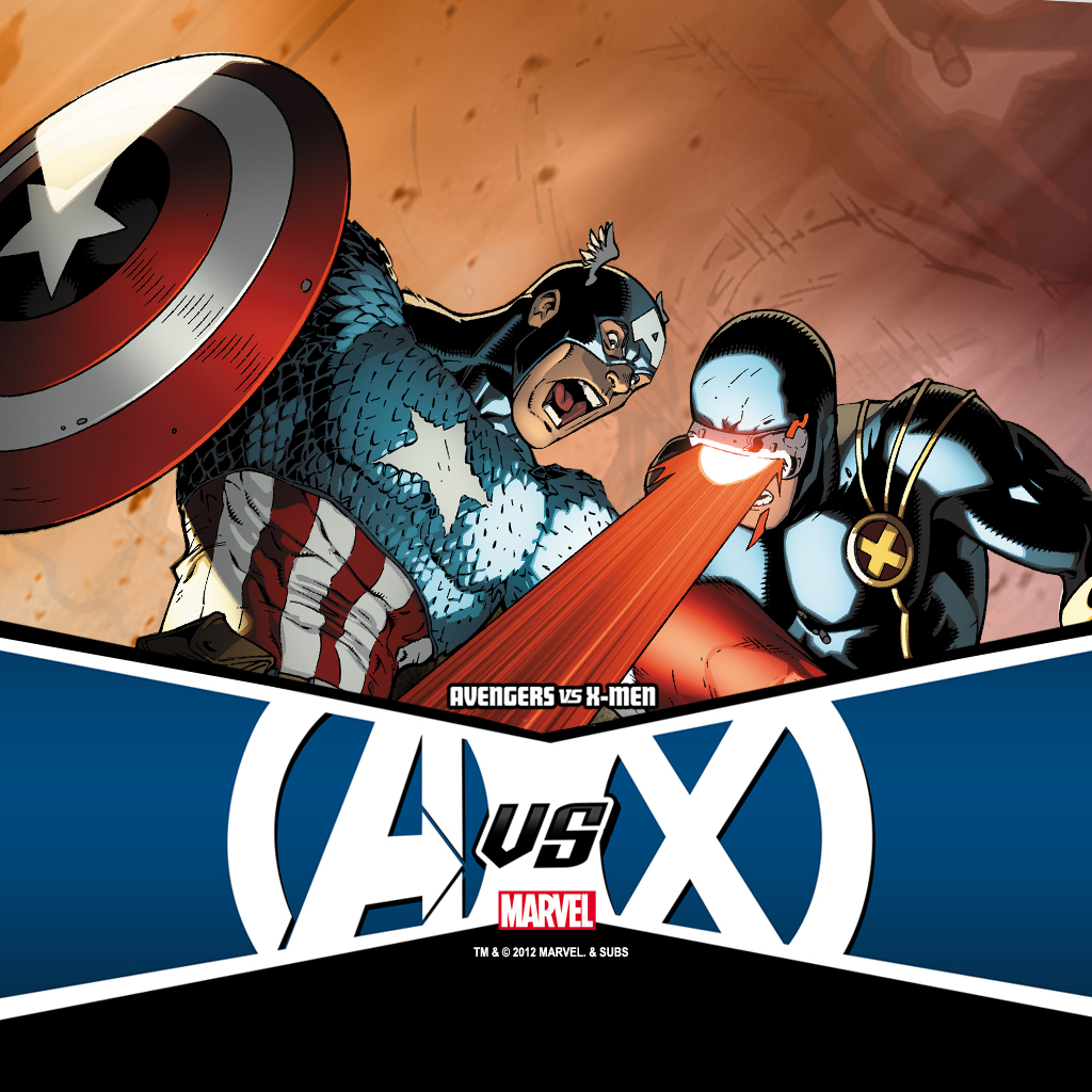 Avengers VS X-Men (2012) #1 iPad Wallpaper