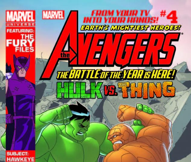 MARVEL UNIVERSE AVENGERS EARTH'S MIGHTIEST HEROES 4