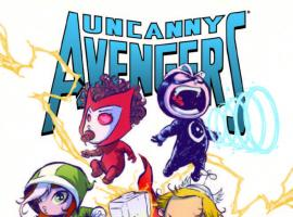UNCANNY AVENGERS 1 YOUNG BABY VARIANT (NOW, WITH DIGITAL CODE)