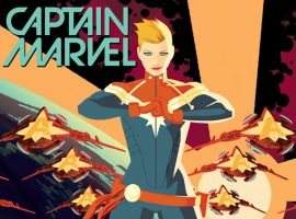 Punching Holes in the Sky with Captain Marvel